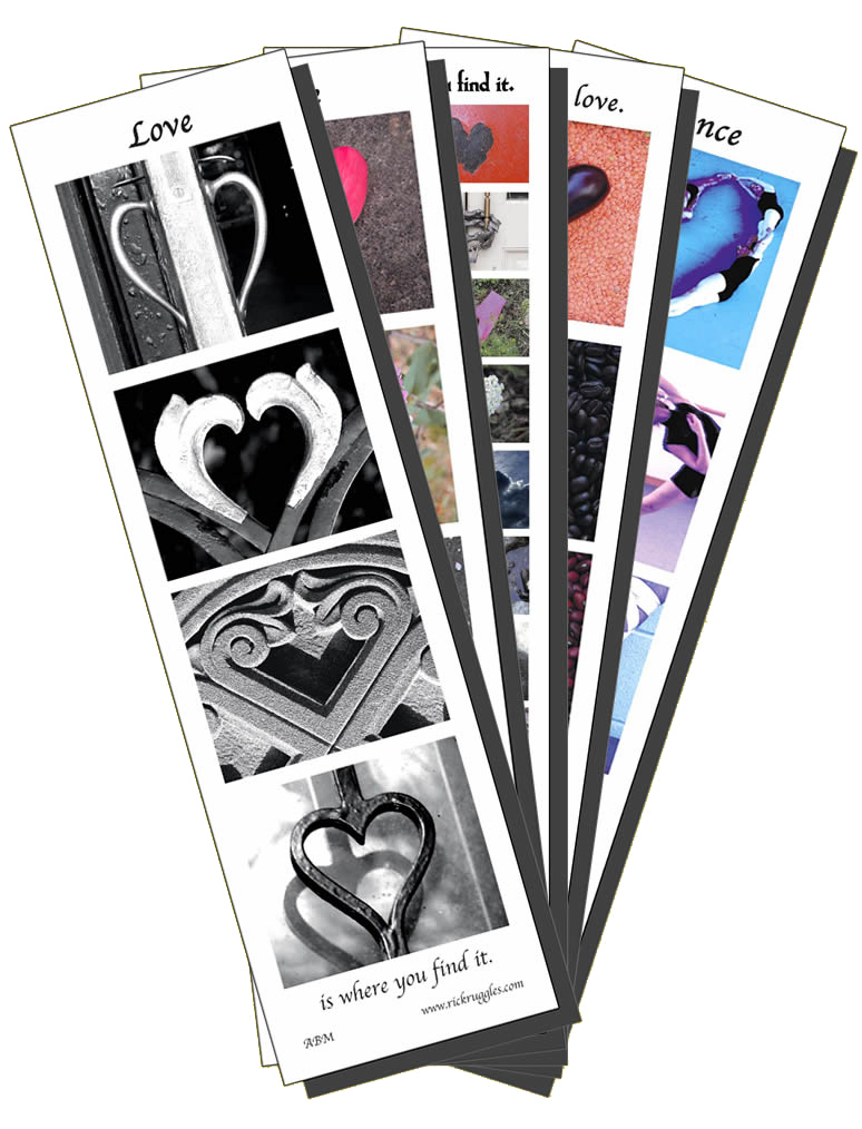BMMIX bookmark set